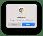 Browser Alert